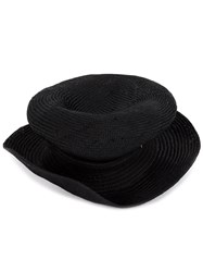 Horisaki Design And Handel Deformed Hat Black