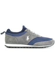 Polo Ralph Lauren Lace Up Sneakers Blue