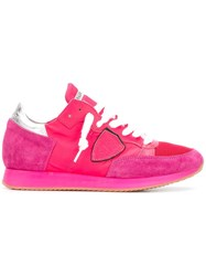 Philippe Model 'Tropez' Sneakers Pink Purple