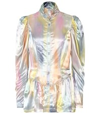 Sies Marjan Thea Satin Jacket Multicoloured