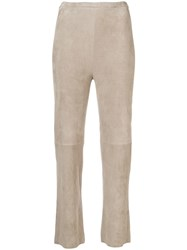 Stouls Pearl Light Flared Trousers Neutrals
