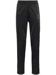 Marcelo Burlon County Of Milan Multicolour Kappa Sweatpants Black