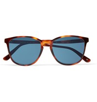 L.G.R Nairobi Square Frame Polarised Tortoiseshell Acetate Sunglasses Brown