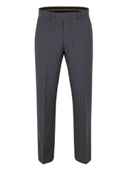 Pierre Cardin Fortrose Check Regular Fit Trouser Navy
