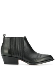 Buttero Ankle Boots Black
