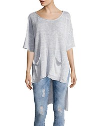 Free People Light Bright Hi Lo Sweater Lavender