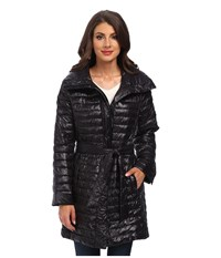 Rainforest Thermoluxe S B Belted Coat Black Women's Coat