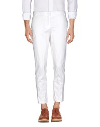 Ermanno Scervino Street Casual Pants Ivory