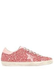 Golden Goose 20Mm Super Star Glitter Gel Sneakers