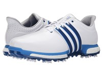Adidas Tour360 Boost Ftwr White Eqt Blue Shock Blue Men's Golf Shoes