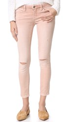 Blank Coated Skinny Jeans Don't Blink Pink
