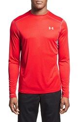 Men's Under Armour 'Coldblack Run' Fitted Heatgear Long Sleeve T Shirt