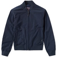 Woolrich Shore Bomber Jacket Blue