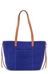 Hobo Cecily Leather Tote Blue Wisteria