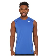 Nike Hypercool Fitted S L Game Royal Deep Royal Blue White Men's Clothing