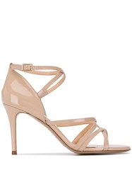 Fabio Rusconi Spatola Strappy Pumps Neutrals