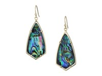 Kendra Scott Carla Earrings Gold Abalone Shell Earring