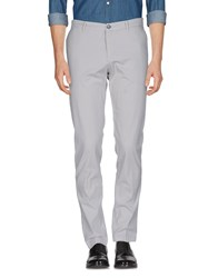 Trussardi Jeans Trousers Casual Trousers Light Grey