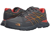 The North Face Ultra Endurance Gtx Dark Shadow Grey Tnf Yellow Men's Shoes Black