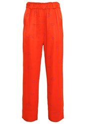 Stine Goya Vinnie Trousers Red Orange