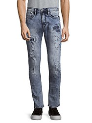 Buffalo David Bitton Skinny Fit Jeans Repaired