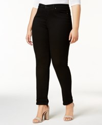 Charter Club Plus Size Boyfriend Jeans Created For Macy's Saturated Black