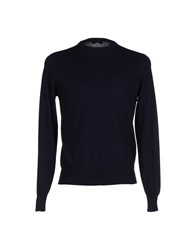Blu Knitwear Jumpers Men Azure