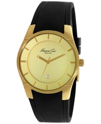 Kenneth Cole New York Men's Black Silicone Strap Watch 42Mm 10027722