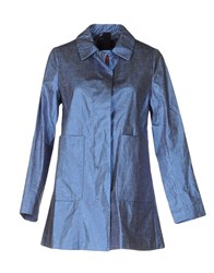 Femme By Michele Rossi Overcoats Blue