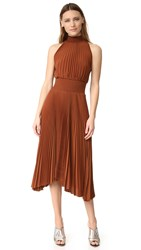 A.L.C. Renzo Dress Chocolate