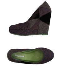 Desigual Pumps Dark Brown