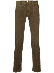 Closed Corduroy Trousers Green