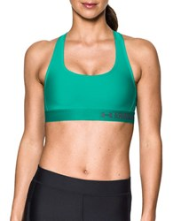 Under Armour Solid Crossback Bra Green