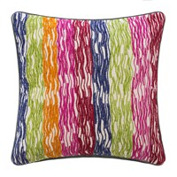Amara Rainbow Stripe Cushion 45X45cm