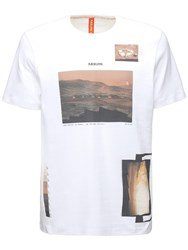 Christopher Raeburn Rae Gallery Cotton Jersey T Shirt White