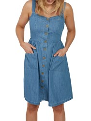 Fat Face Aubrey Dress Chambray