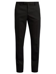 Saint Laurent Le Smoking Grain De Poudre Tuxedo Trousers Black