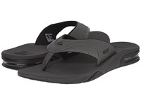 Reef Fanning Grey Black Men's Sandals Gray