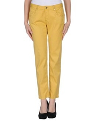 Les Copains Denim Pants Yellow