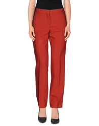 Gold Case Casual Pants Red