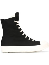 Rick Owens Drkshdw Lace Up Sneakers Black