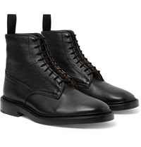 Tricker's Anniversary Edition Cruiser Tramping Leather Boots Black