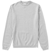 Norse Projects Sigfred Merino Crew Knit Grey