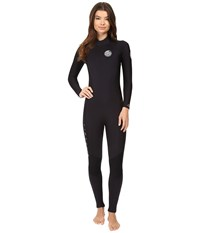 Rip Curl Dawn Patrol 3 2 Gb Back Zip St Black Women's Wetsuits One Piece