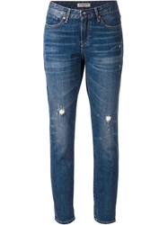 Levi's Made And Crafted 'Marker' Boyfriend Jeans Blue