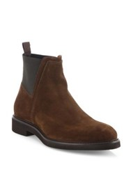 Aquatalia By Marvin K Weatherproof Leather Chelsea Boots Brown