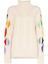 Rosie Assoulin Pain In The Glass Turtleneck Knit Jumper 60