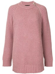 Calvin Klein 205W39nyc Knitted Sweater Pink