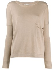 Ma'ry'ya Slouch Pocket Knit Jumper 60