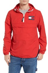 Tommy Hilfiger Men's Tjm Packable Hooded Windbreaker